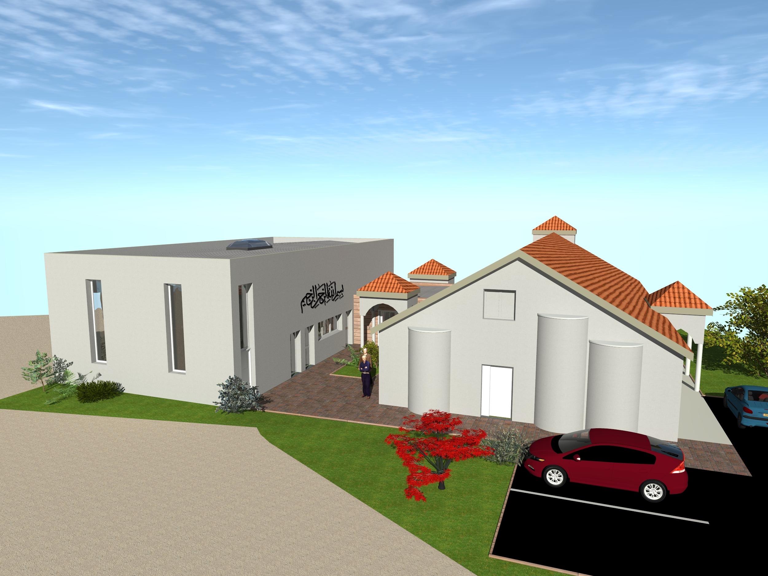Future Extension de la Mosquée